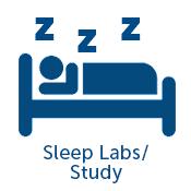 Sleep Labs and Study icon