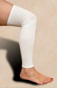 Spanda-Sleeves Leg Sleeve White