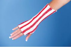 Red/White Tubular Elastic Retainer Net (Surgi-Color Guard™)